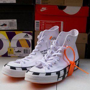 Off-White x Chuck 70 'White'